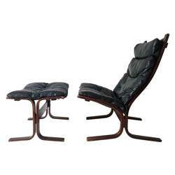 """""""Siesta"""" armchair and ottoman, Ingmar RELLING - 1960s"""
