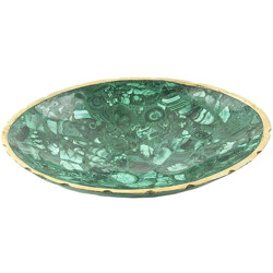 Malachite Bowl - 1950s