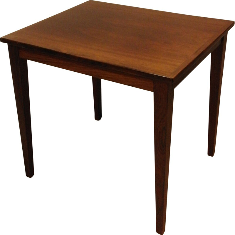 Small Danish side table in rosewood - 1970s