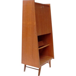 Small secretary in veneered wood - 1950s