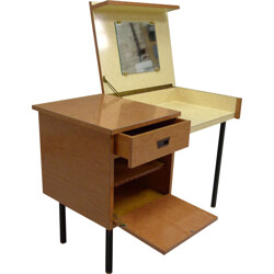 Desk in formica and metal - 1960s