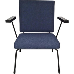 """Lounge chair """"1407"""" blue, Willem RIETVELD - 1950s"""