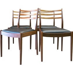 Set of 4 G Plan dining chairs - 1960s