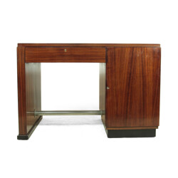 French desk in rosewood - 1930s