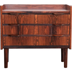 Danish mini chest of drawers in rosewood - 1960s