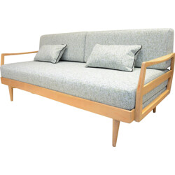Mid-century German daybed in fabric - 1970s