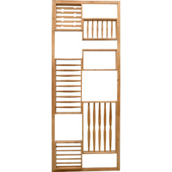 Mid-century room divider in wood - 1960s