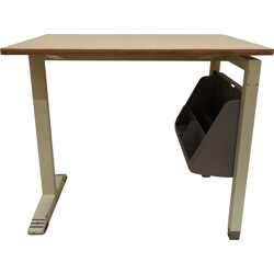 Marko Holland school desk in formica and iron - 1960s