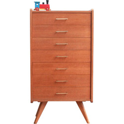 Oakwood chest of drawers - 1950s