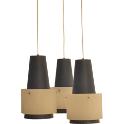Philips  pendant lamp with 3 lamp shades - 1950s