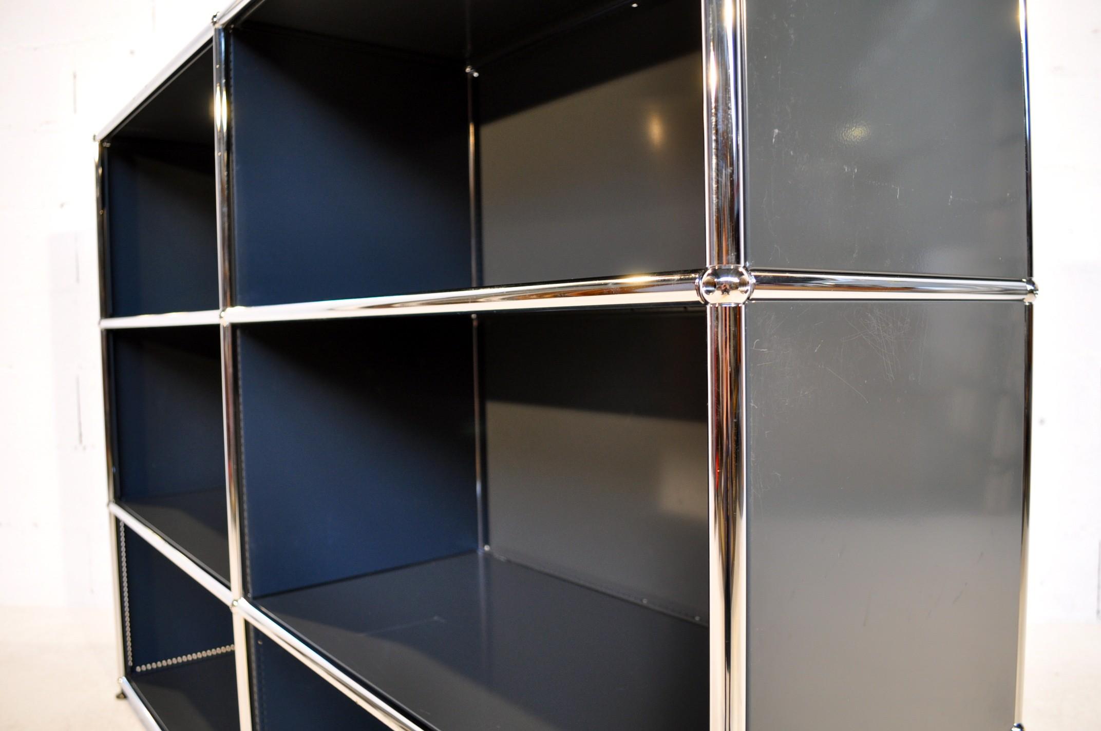 Storage Bookcase Usm 1980s Design Market # Meuble Transparent