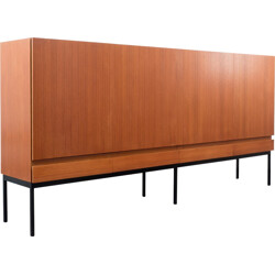 Vintage Behr highboard in teak, Dieter WAECKERLIN - 1960s