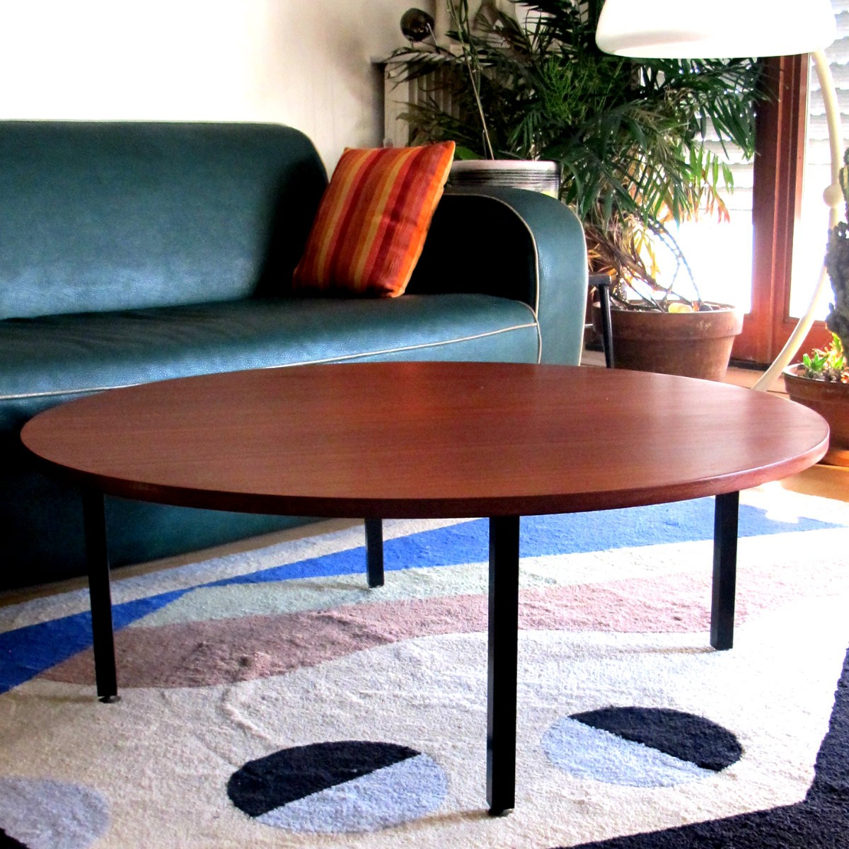 Scandinavian Teak Coffee Table: Scandinavian Coffee Table In Teak