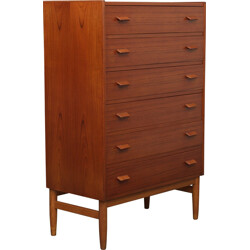 Chest of drawers in teak, Paul VOLTHER - 1960s