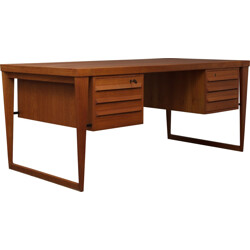 Scandinavian executive desk, Kai KRISTIANSEN - 1960s