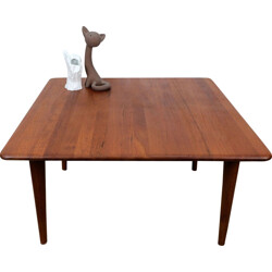 Vintage Danish coffee table in solid teak - 1960s