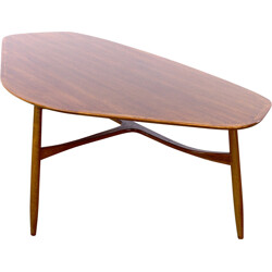 Teak Laauser coffee table - 1950s