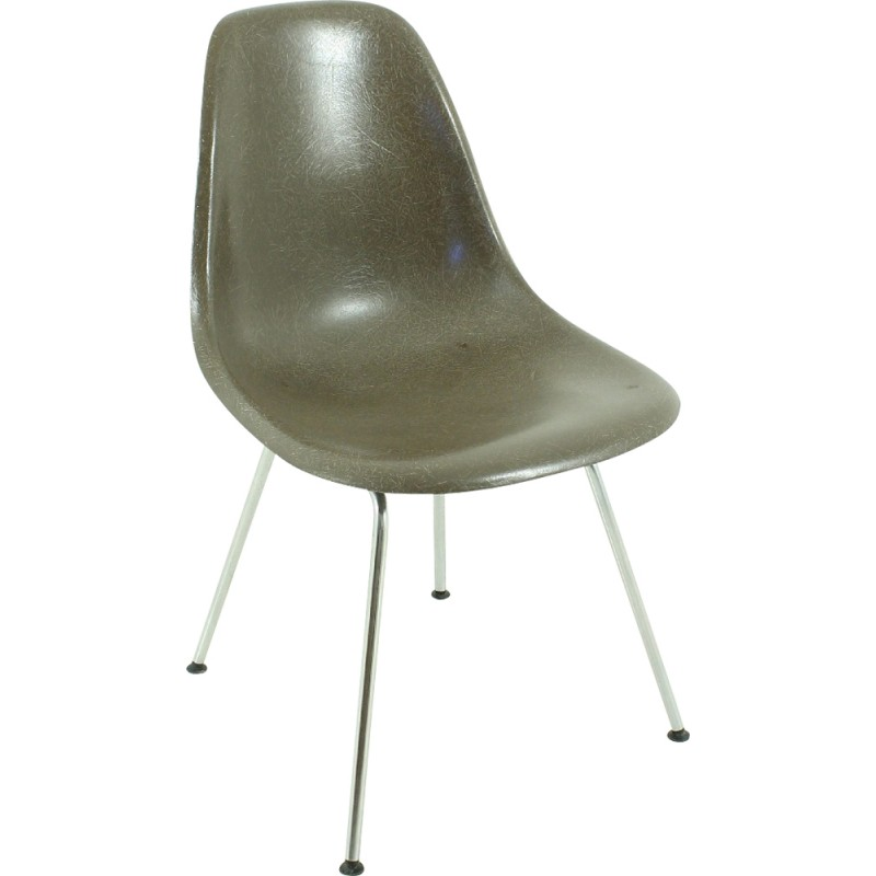 Chocolate Brown Herman Miller Dining Chair Charles Ray EAMES