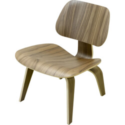 """LCW"" Herman Miller chair in walnut, Charles EAMES - 2000s"