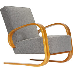 Cantilever lounge chair in fabric, Miroslav NAVRATIL - 1950s