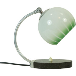 Table lamp in marble and glass - 1930s