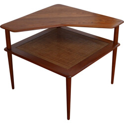 Solid teak model 519 side table, HVIDT MOLGAARD NIELSEN - 1957