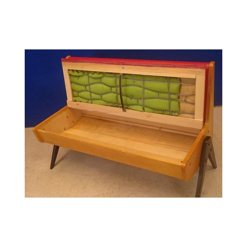 Mid Century Eka Mobel Bench With Trunk 1950s Design Market