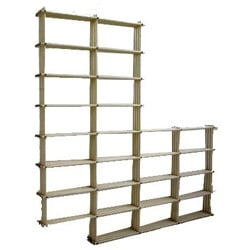 Bookcase shelve in wood - 1960s