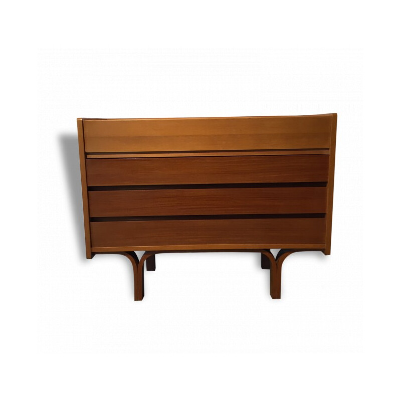 Chest of drawers in wood, Joseph-André MOTTE - 1950s