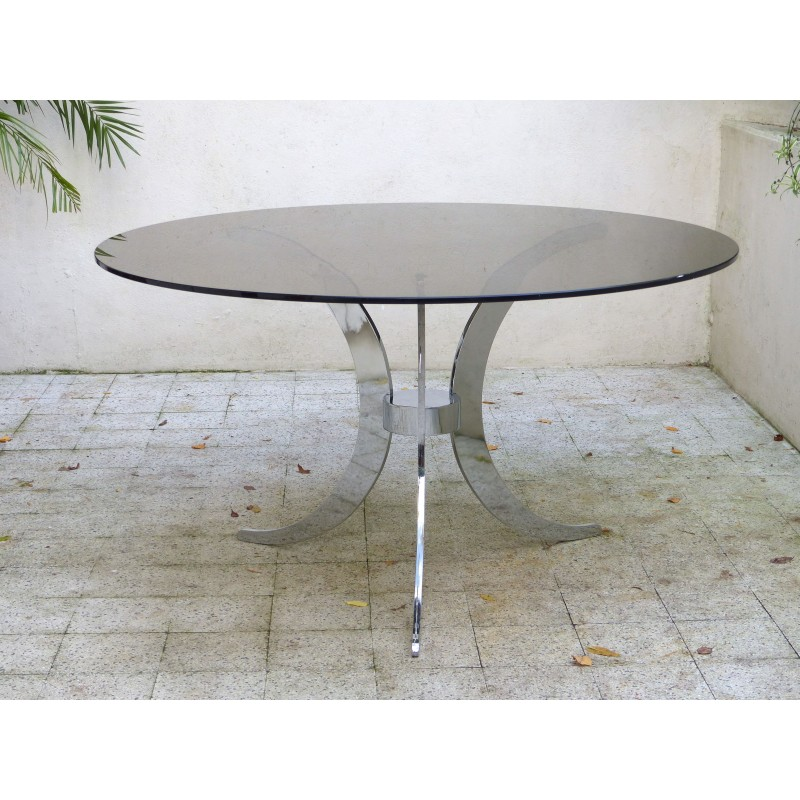 Table and 4 chairs, Gastone RINALDI - 1970s - Design Market