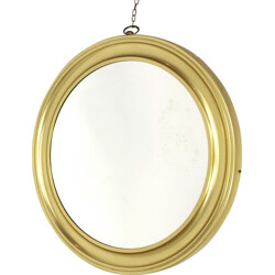 Large golden mirror - 1970s