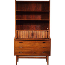 Vintage bookcase in rosewood, Johannes SORTH - 1960s