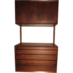 Mid century small storage system in rosewood, Poul CADOVIUS - 1960s