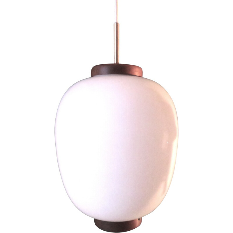 Danish pendant lamp, Bent KARBLY - 1950s