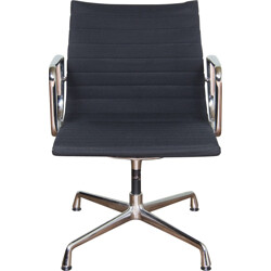 """Vitra """"EA108"""" office chair in aluminium and fabric, Charles & Ray EAMES - 1950s"""