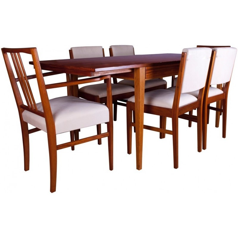 Set Of Dining Table And 6 Chairs In Tulipwood Gordon RUSSELL