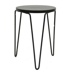Knoll stool Model 75 wood and metal stool, Florence KNOLL - 1960s