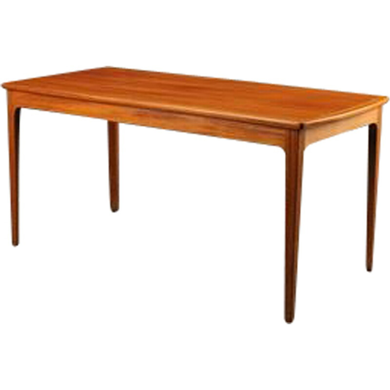 A. J. Iversen coffee table in mahogany, Ole WANSCHER - 1970s