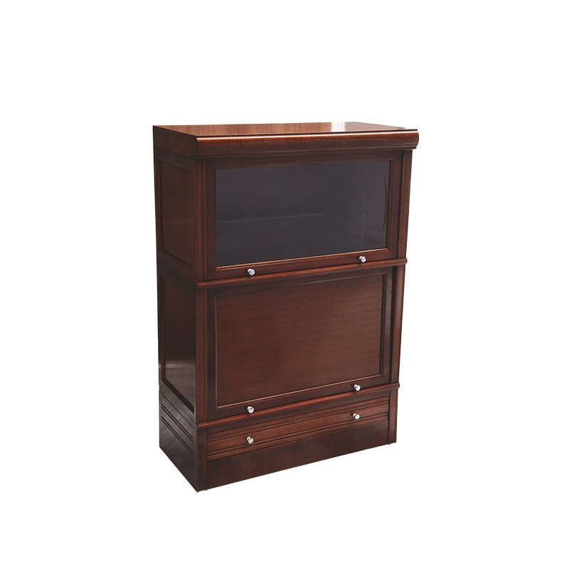 md mahogany and glass furniture 1950s