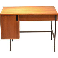 """Multitable"" desk in mahogany, Jacques HITIER - 1950s"