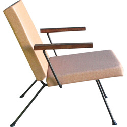 "Chair ""1409"" in beige wool, André R. CORDOMEYER - 1950s"