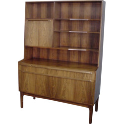 Vintage rosewood bookcase - 1970s