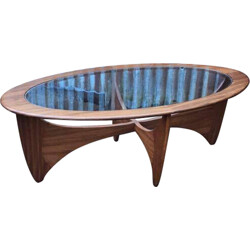 "Mid century oval G-Plan ""Astro"" coffee table - 1960s"