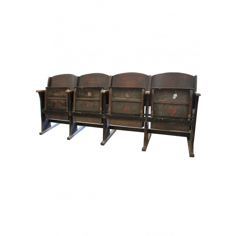 Mid-century cinema chairs - 1930s