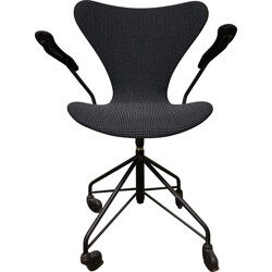 "Fritz Hansen ""Serie 7"" desk chair, Arne JACOBSEN - 1960s"