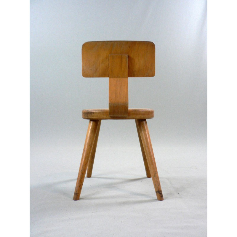 Wooden Kid Chairs   1960s