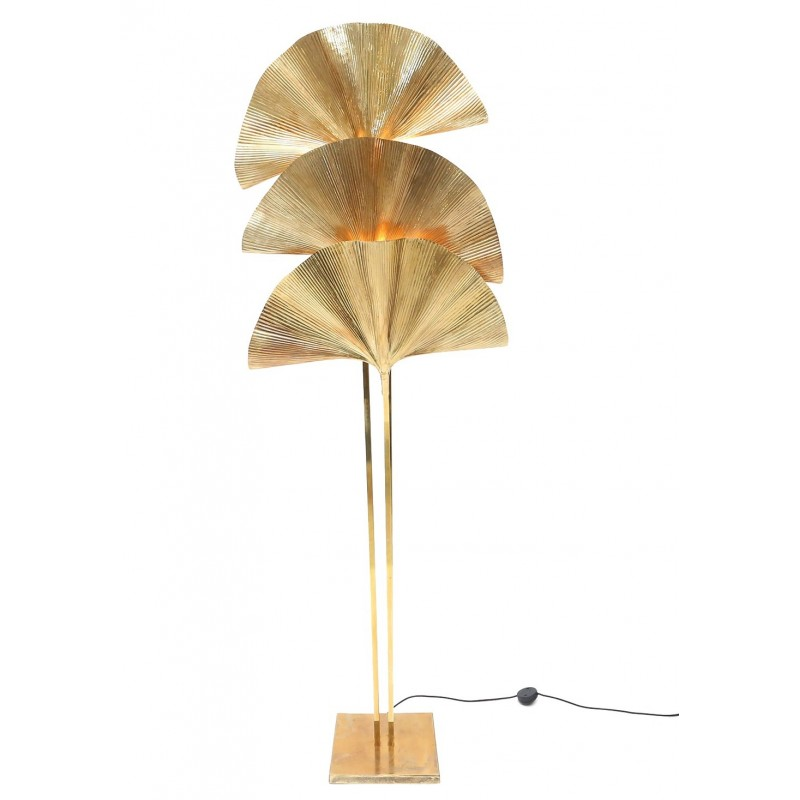 Gingko Leaf Floor Lamp, Tomasso BARBI- 1970s