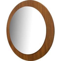 Round wall mirror - 1960s