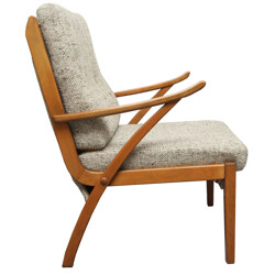 Armchair in pastell green - 1950s