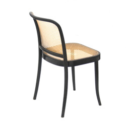 Bented wood black chair - 1960s